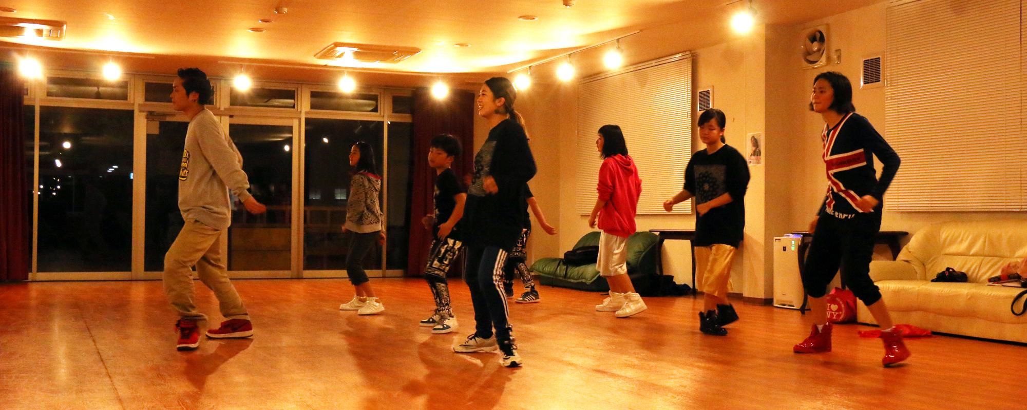MONKATSU DANCE SCHOOL モンカツダンススクール   福山市のダンススクールクラス