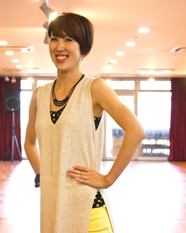 MONKATSU DANCE SCHOOL モンカツダンススクール | 福山市のダンススクール|インストラクター「MIKI」アイキャッチ